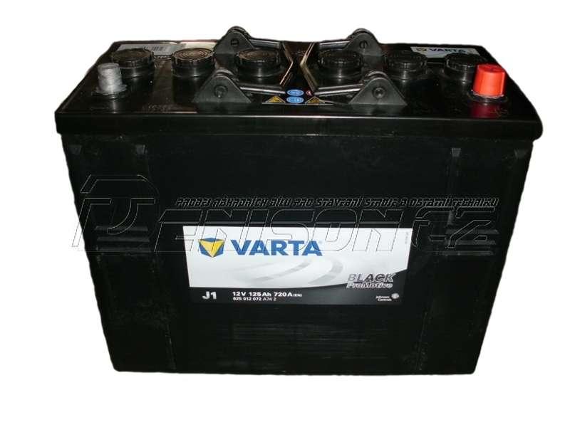 Akumulátor Varta Promotive Black 12V 125Ah 720A, 625 012 072