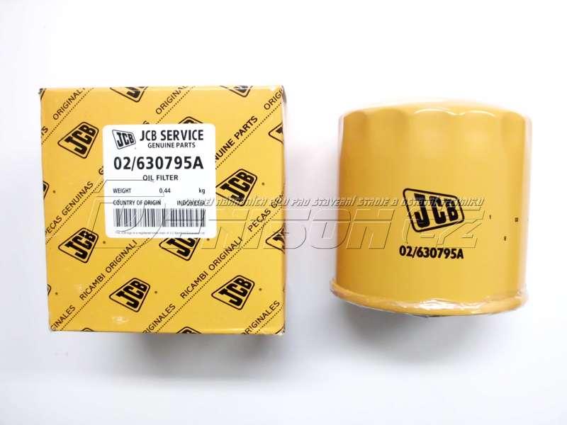 Olejový motorový filtr JCB 02-630795A – original